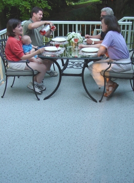 Duradek Waterproof Outdoor Vinyl Flooring And Roof Membrane